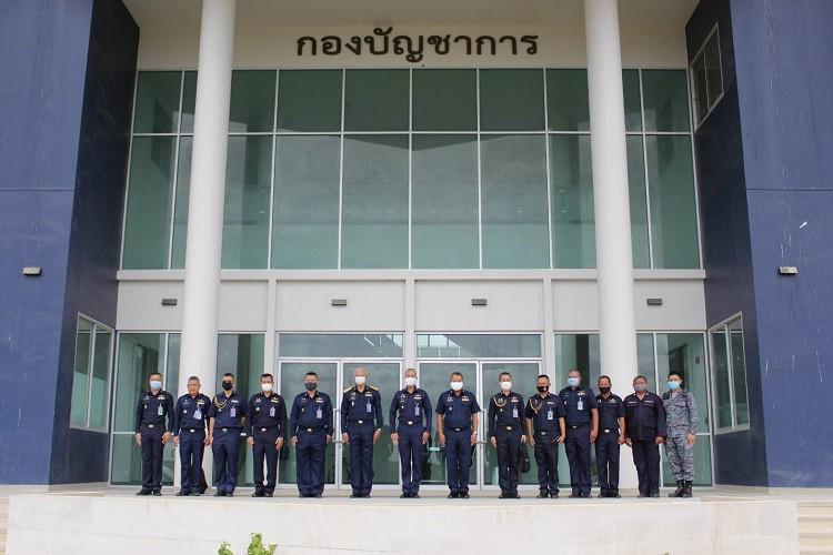 เสนาธิการทหารอากาศ ตรวจเยี่ยมโรงเรียนนายเรืออากาศนวมินทกษัตริยาธิราช (มวกเหล็ก)